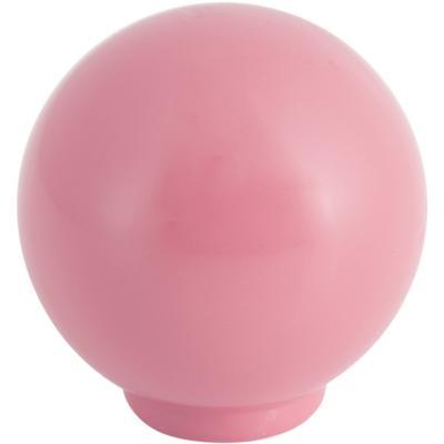 Perilla abs 29 mm rosa brillo