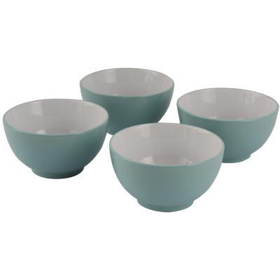 Set de bowls 4 unidades turquesa