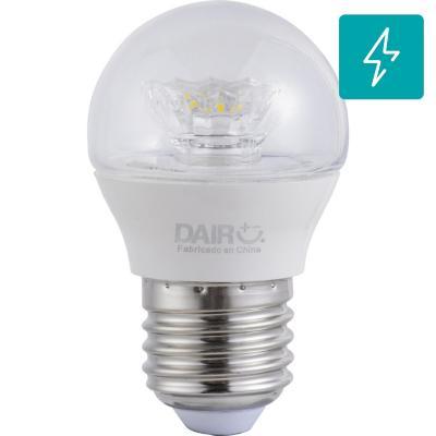Ampolleta LED mini globo E27 5W luz fría