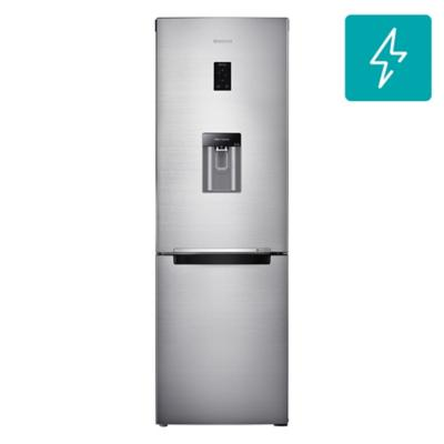 Refrigerador no frost bottom freezer  321 litros gris
