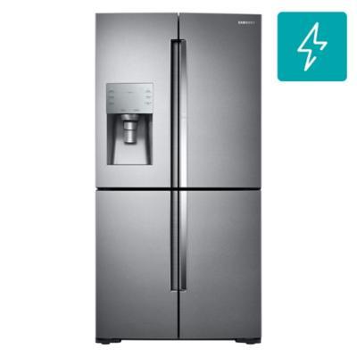 Refrigerador side by side 690 litros gris