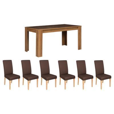 Juego de comedor Tiago 6 sillas Andres