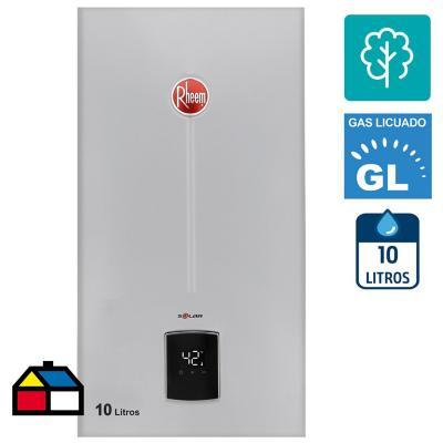 Calefont Gas licuado 10 litros Tiro Natural