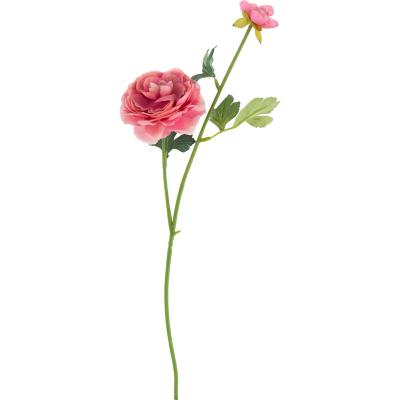 Ranúnculus artificial 54 cm rosado