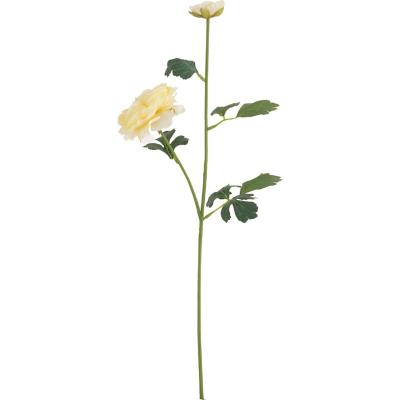 Ranúnculus artificial 54 cm amarillo