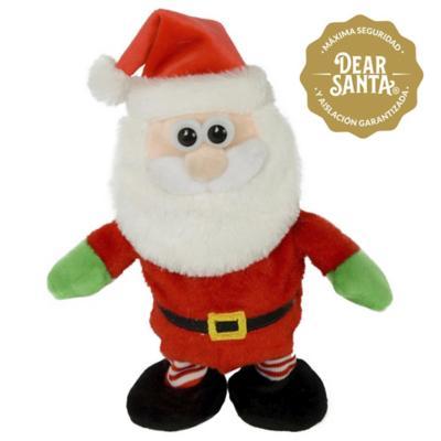 Adorno de Navidad animado Santa