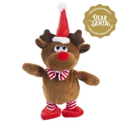 Adorno de Navidad animado reno