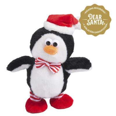 Adorno de Navidad animado pingüino