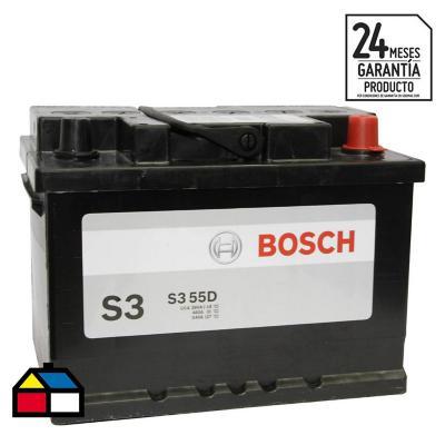 Batería para auto 55 A positivo derecho 390 CCA