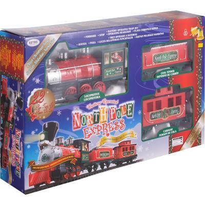 Set tren de navidad 22 piezas