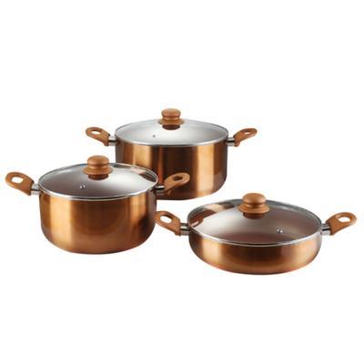 Batería de Cocina Antiadherente 6 piezas Montreal