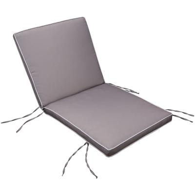 Repuesto cojín para silla poliéster taupe