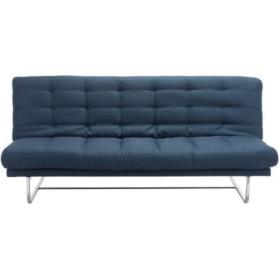 Futón 197x89x102 cm azul