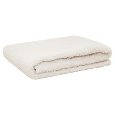 Alfombra para mascotas 76x101 cm blanco