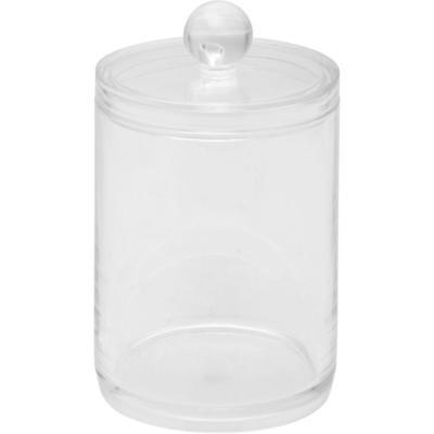 Frasco para algodones 250 ml transparente