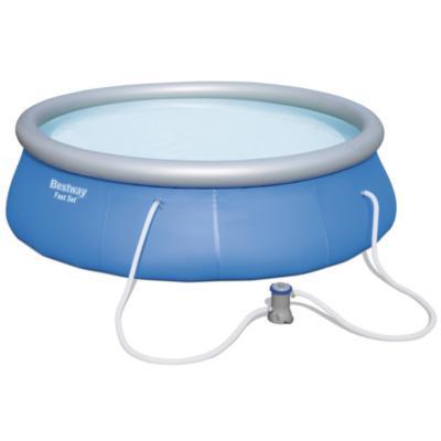 Piscina 396x84 cm 7340 litros azul