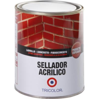 Sellador acrílico incoloro 1/4 gl