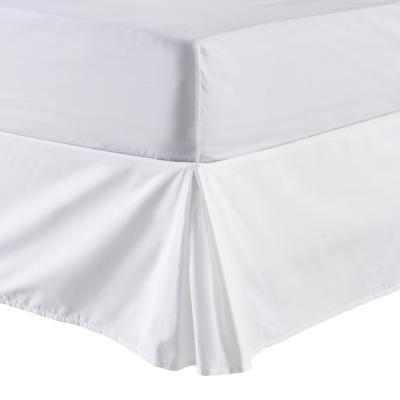 Faldón para cama blanco 2 plazas