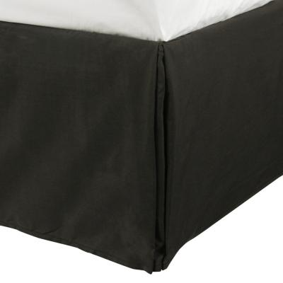 Faldón para cama negro 1,5 plazas
