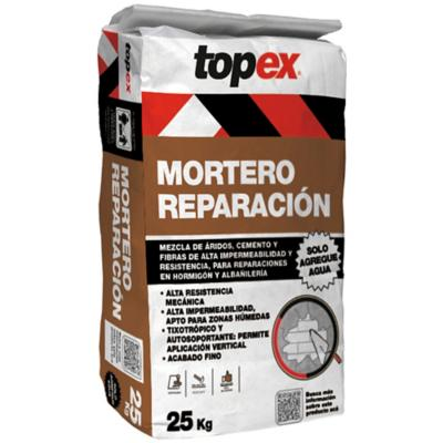 Topex mortero reparación 25 kg