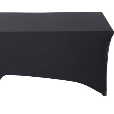 Funda para mesa 150 a 240 cm poliéster negra