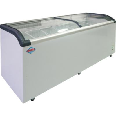Congelador industrial horizontal 650 litros blanco