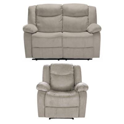 Juego de living Relax 2 cuerpos + sillón beige