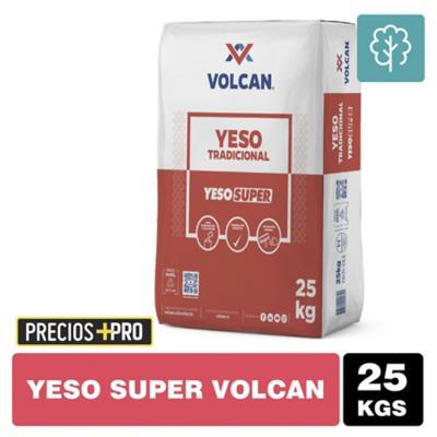 Yeso Súper Volcán saco 25 kg