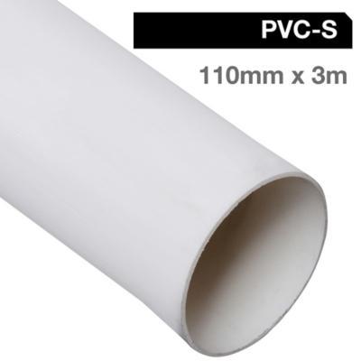 Tubo PVC sanitario para cementar 110 mm 3 m