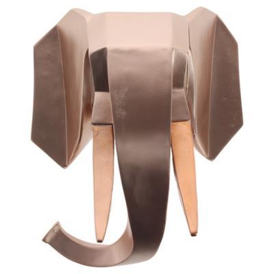 Cabeza Muro Elefante 27x33x18 cm