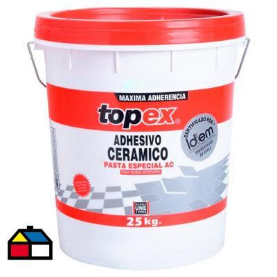 Adhesivo cerámico en pasta 25 kg
