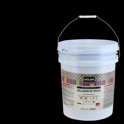 Sellador para techo semisatinado 5 gl negro