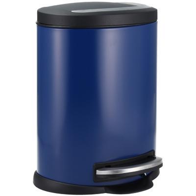 Papelero de Metal 5 Lts Azul