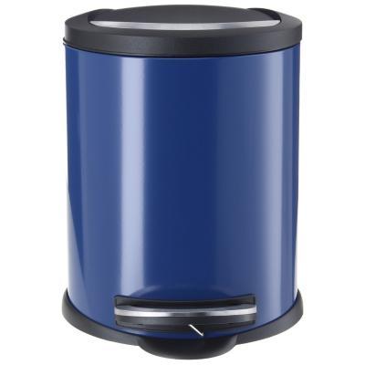 Papelero de Metal 12 Lts Azul