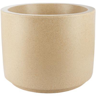 Macetero Classic cilíndrico de plástico 32x40,5 cm arena