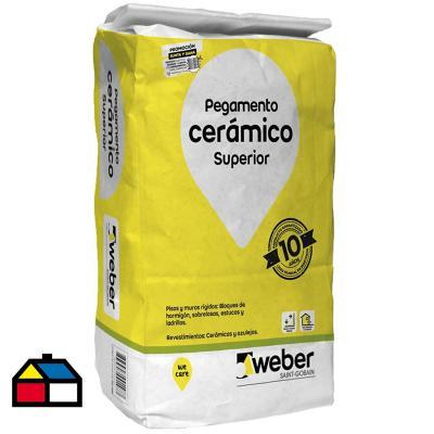 Adhesivo ceramico piso/muro superficie rigida 25kg
