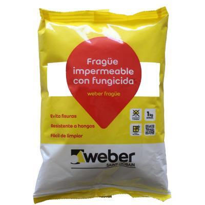 Fragüe impermeable blanco 1kg