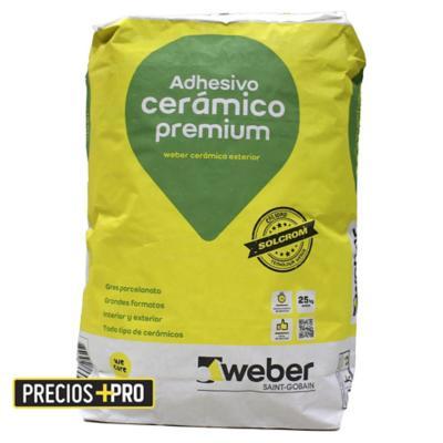 Pegamento cerámico premium 25kg