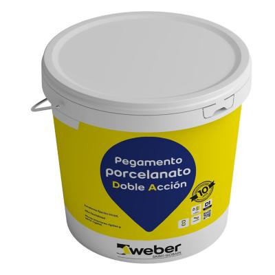 Adhesivo pocelanato piso/muro superficie rigida 25kg