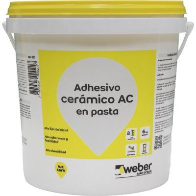 Adhesivo cerámico/muro superficie flexible 6kg