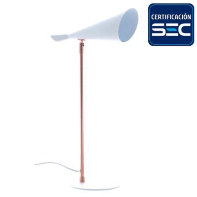 Lámpara de mesa copihue 1 luz 13 W
