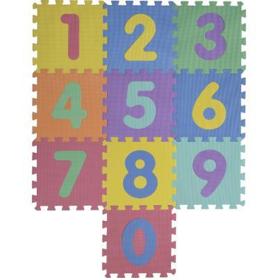 Alfombra Puzzle Números 30x30 cm 10 piezas