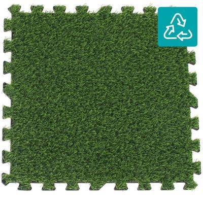 Alfombra Puzzle Pasto 50x50 cm verde