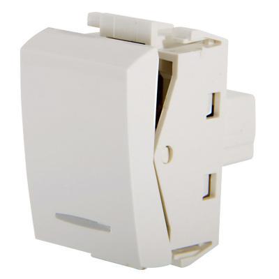 Módulo interruptor conmutable 10 A blanco