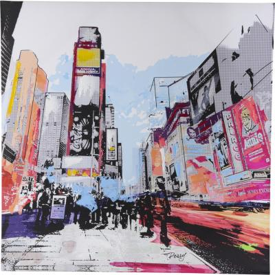 Canvas Ciudad 80x80 cm