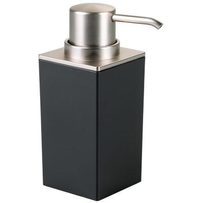 Dispensador de jabón para baño Negro
