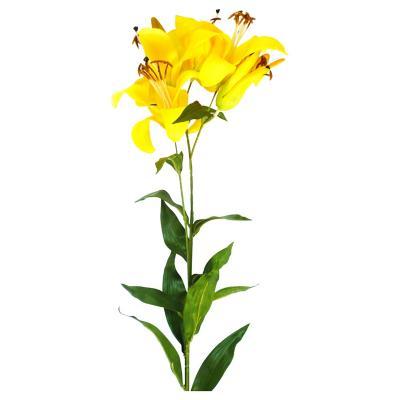 Lily artificial 95 cm amarillo