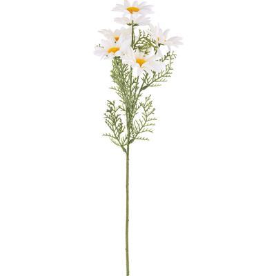 Daisy artificial 55 cm blanco
