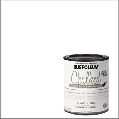 Chalked pintura tizada Blanco Lino 0,887L