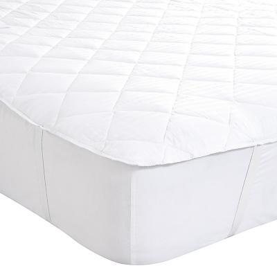 Cubrecolchón 1,5 plazas 105x200 cm blanco